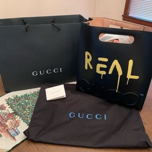 Gucci graffiti ghost bag